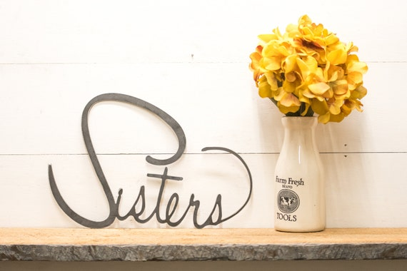 Sisters Heart Home Decor -  Sister Gifts