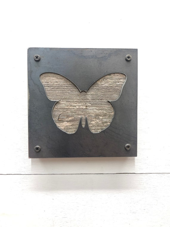 Butterfly Rustic Wall Decor, Butterfly Decor, Nursery Woodland Decor