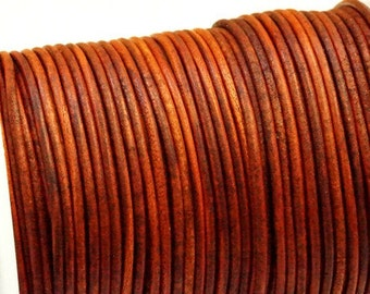 2mm Lederband Rindsleder 3m #5352 DarkTurquoise