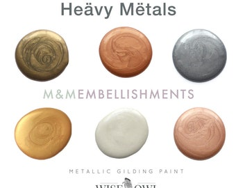 Wise Owl METALLIC PAINT, 6 colors available!