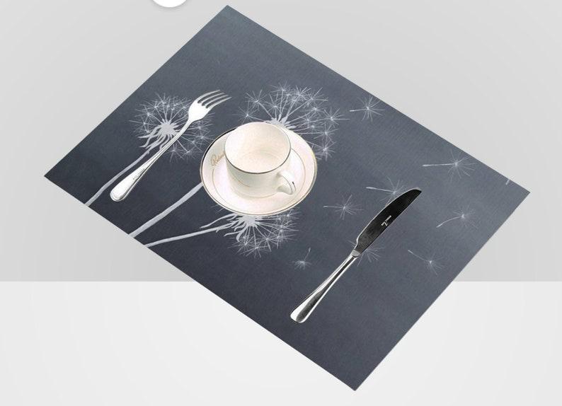 Original Dandelion Apron Adjustable Original hand painted Dandelions art printed onto kitchen apron