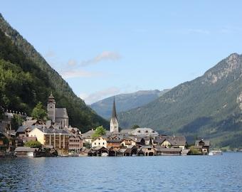 Digital Download | Photography Print | Sunny Lake Austria Travel Photography