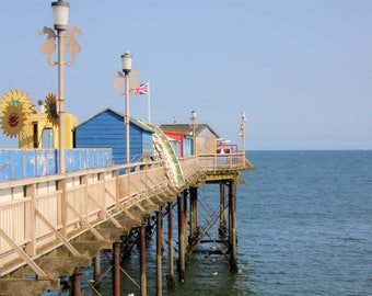 Digital Download | Photography Print | Devon Pier Seaside