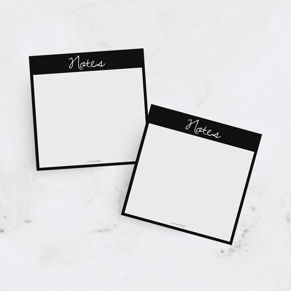 Printable Sticky Notes Stationery Boss Lady
