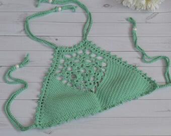 Schema Bikini A Uncinetto Etsy