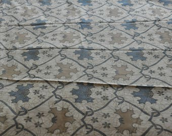 "Ethnic ""Lawasan"" vintage-old Jogyakarta Indonesia Java batik fabric"