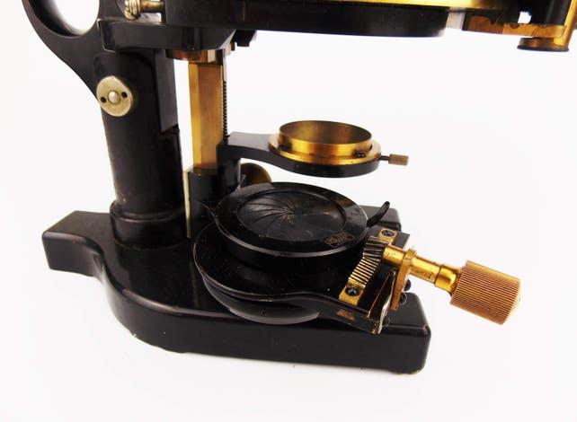 Antike 1910 carl zeiss messing mikroskop srb eine technische etsy