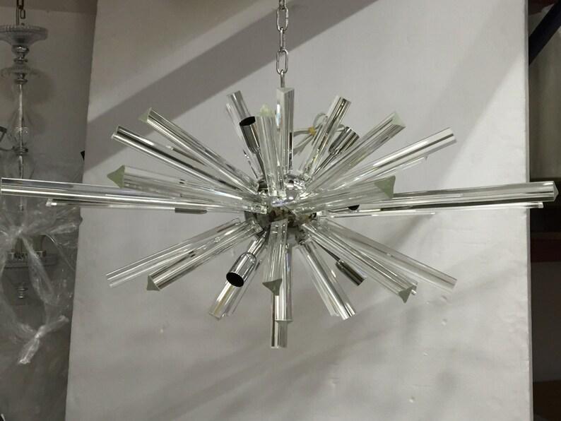 Kronleuchter Aus Murano Glas ~ Kronleuchter sputnik murano glas elictical wie venini barovier etsy