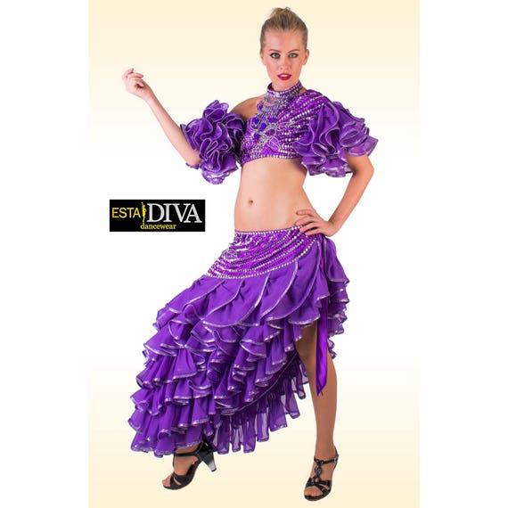Purple Dance Dress