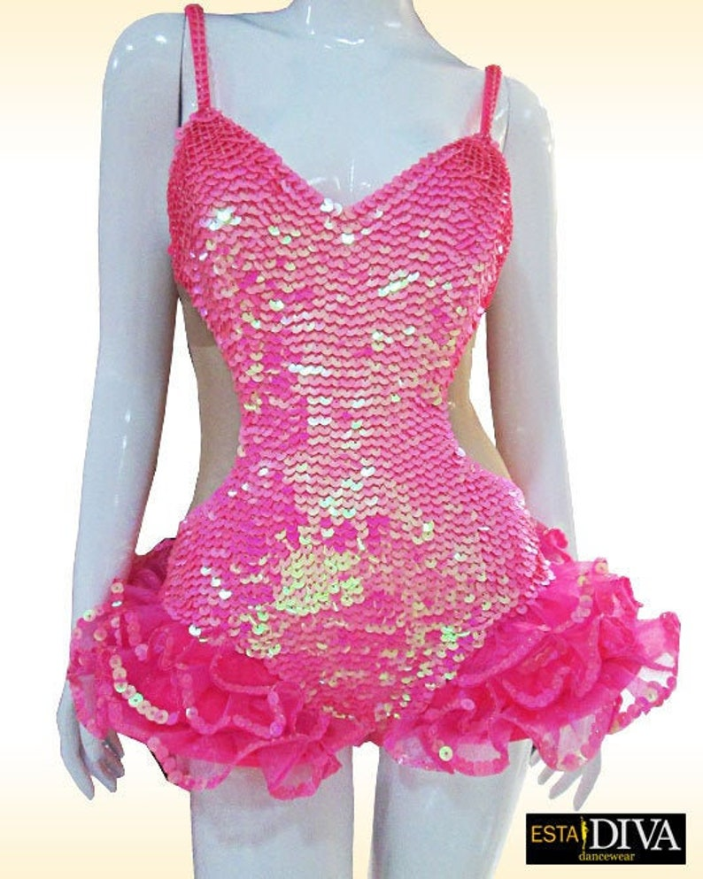 bc7792f7d Showgirl Leotard Patinage Rhythmic Gymnastics Costume Figure | Etsy