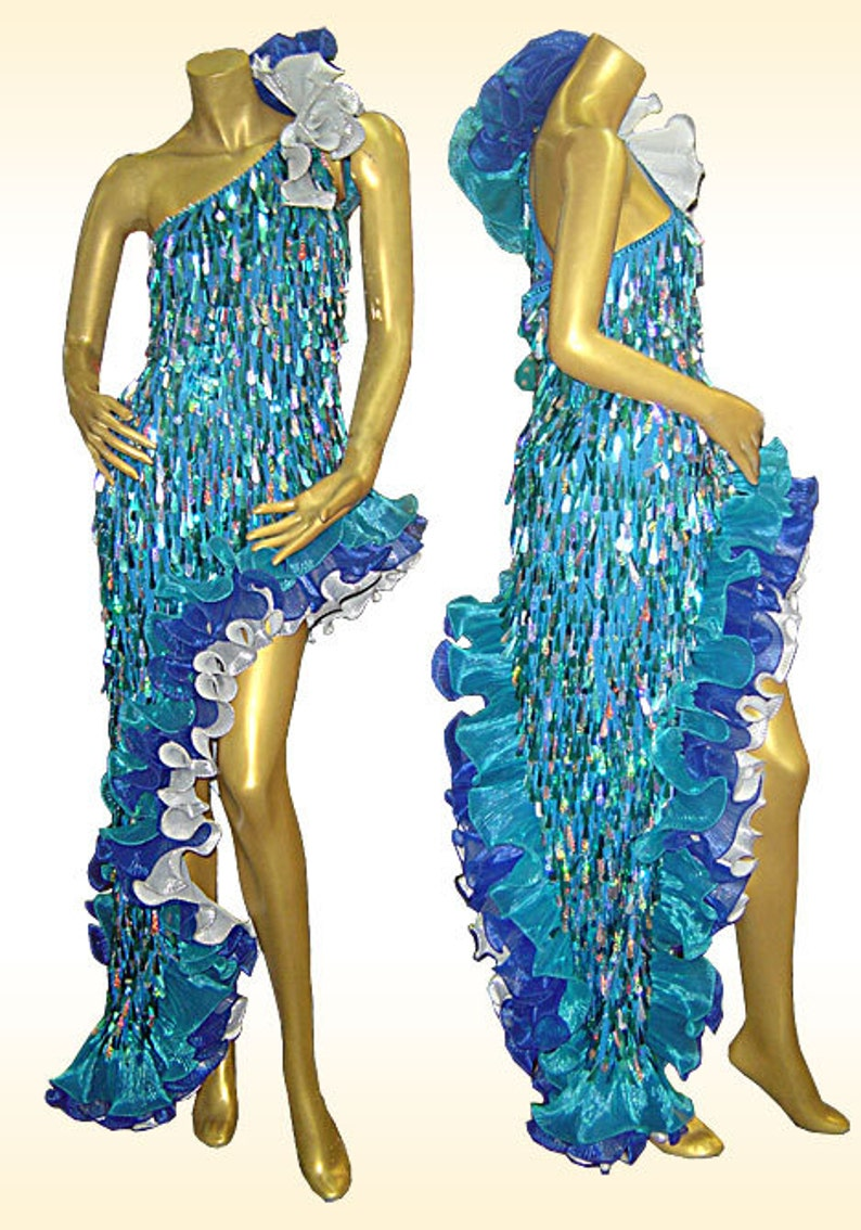 0163c5f5 Latin Dance Dress Diva Fogosa Latin Dance Dress Latin Drop | Etsy