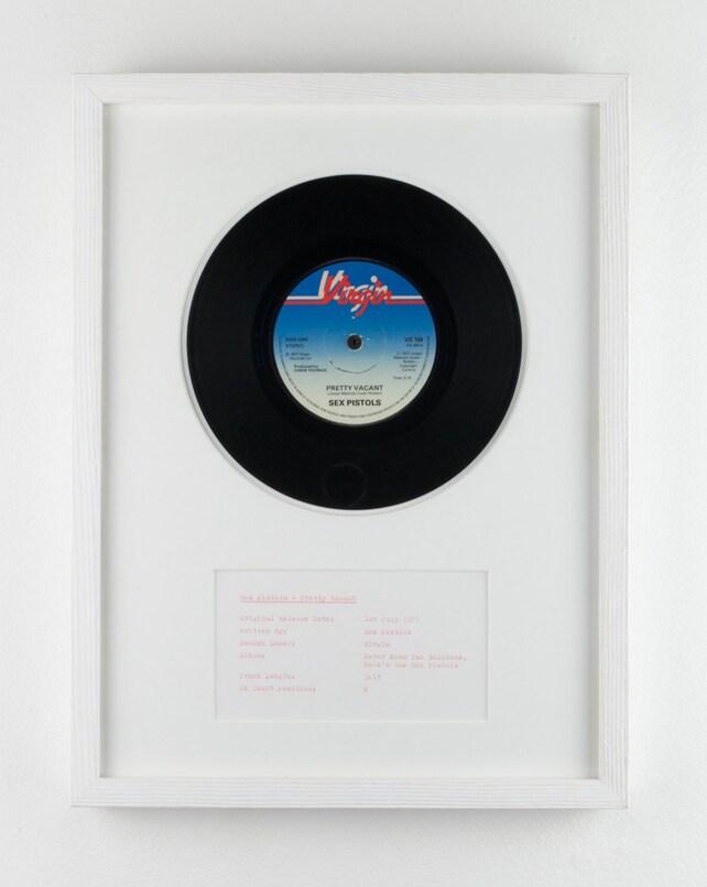 Disco de vinilo enmarcado: Sex Pistols bastante vacante | Etsy