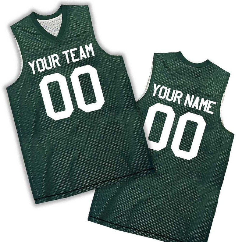 33752cfd2 Custom Basketball Jerseys Men s   Boys Reversible