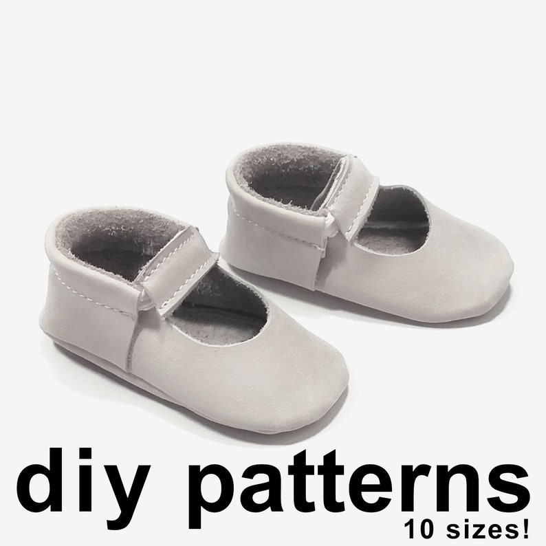 bef80d5c7f5fc Fun baby Mary Jane moccasins pattern - PDF moccasins - shoe pattern baby -  diy baby moccassins - moccasin patterns - PDF patterns baby shoes