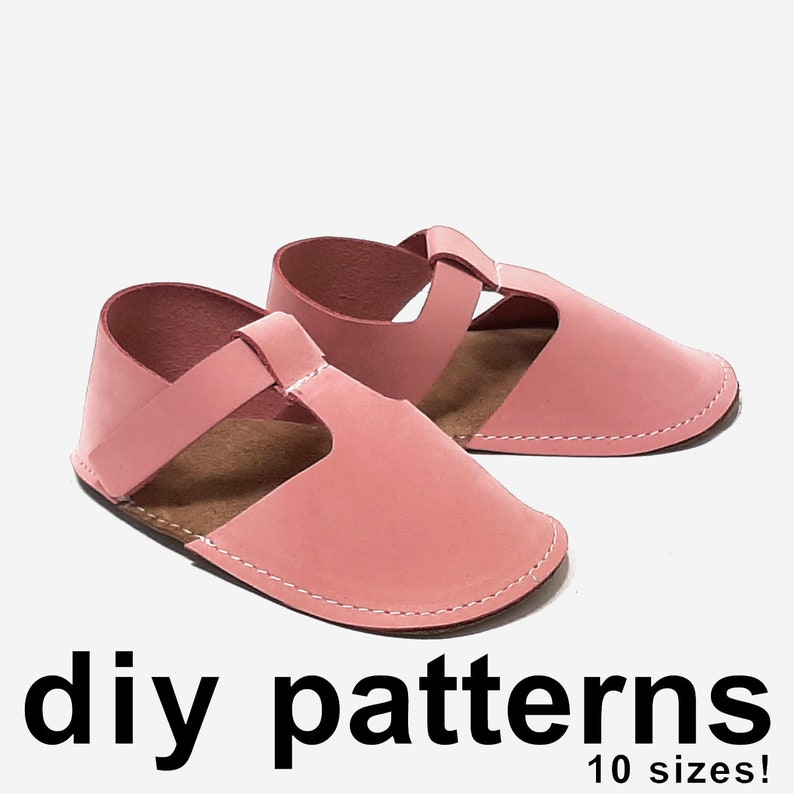 22513962732d1 Awesome baby shoe pattern - diy baby sandals - pdf sewing pattern shoes -  pdf baby shoe patterns - DIY baby gift