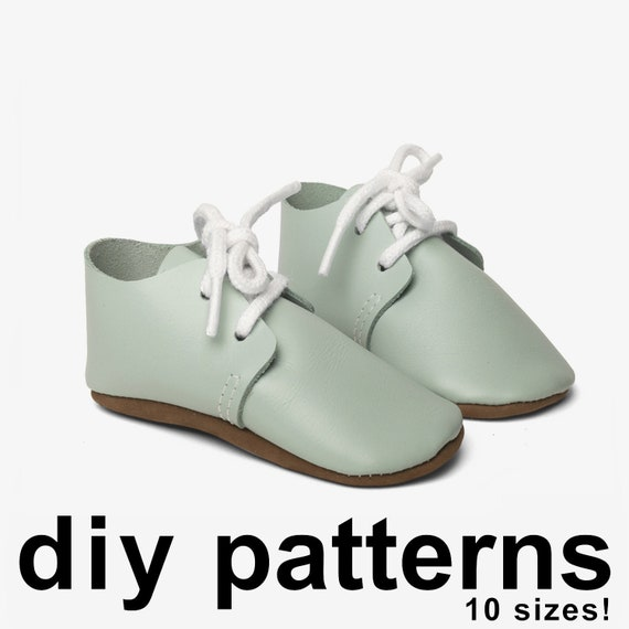 08874438cf673 Cool baby shoe pattern - baby oxford shoes - PDF patterns baby shoes -  sewing baby shoe pattern - baby shoes pattern - diy oxford shoes