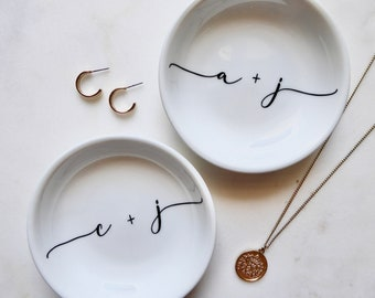 Personalized  Gift for Her Ring Dishes Engagement Engagement Gifts, Ring Holder