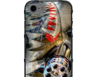 CUSTOM PRINTED Limited Edition - Warthog A-10 Thunderbolt II Chrome Styled Phone Case