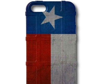 CUSTOM PRINTED Limited Edition - Authentic Made in U.S.A. Magpul Industries Field Case, Weathered Texas State Flag