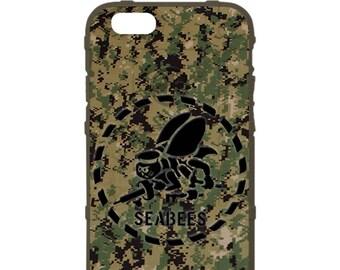 Custom Printed Limited Edition -  UCP / NWU Type 3 Digital Camo Seabees Logo