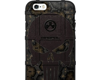 CUSTOM PRINTED Limited Edition - Hex Camo Punisher Design