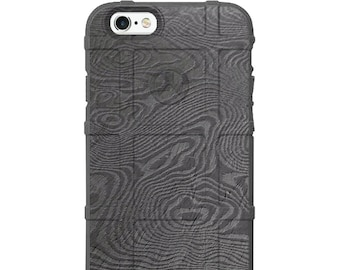 CUSTOM PRINTED Limited Edition - Authentic Made in U.S.A. Magpul Industries Field Case Damascus Steel Design