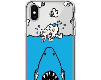 "Jason Maloney Art Series: Tippsy The Elephant & Chum The Shark ""JAWZ! Tippsy Cloud"" Limited Edition Custom UV-Printed Smartphone Case"