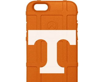 CUSTOM PRINTED Limited Edition - Authentic Made in U.S.A. Magpul Industries Field Case, Tennessee Vols (Volunteers) TPU Phone Case