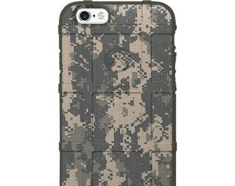 Custom Printed Limited Edition - Authentic Made in U.S.A. Magpul Industries Field Case, Army ACU Digital Camouflage