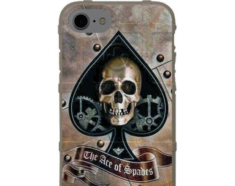 CUSTOM PRINTED Limited Edition - Authentic Made in U.S.A. Magpul Industries Field Case, Ace Of Spades