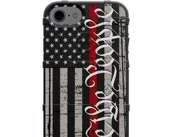 CUSTOM PRINTED Limited Edition - We the People Thin Red Line Assaulting Subdued Flag