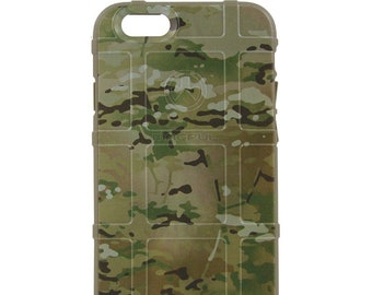 Custom Printed Limited Edition - Authentic Made in U.S.A. Magpul Industries Case, OCP, Multicam / Scorpion Camouflage