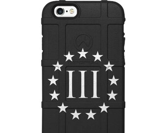 CUSTOM PRINTED Limited Edition -  3 Percenter, 3%, 13 Stars Oath Keeper