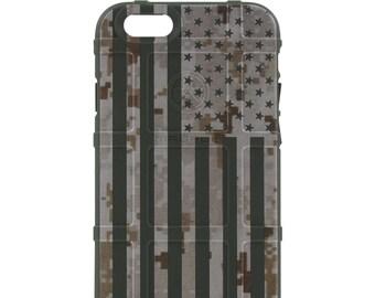 Custom Printed Limited Edition -  Desert Digital Camouflage MARPAT US Flag (ddusa)