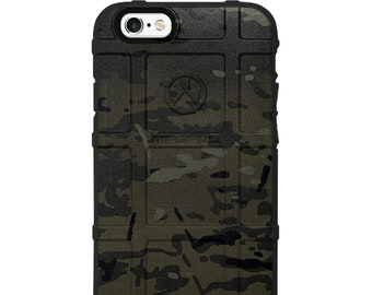 CUSTOM PRINTED Limited Edition Black Multicam Case
