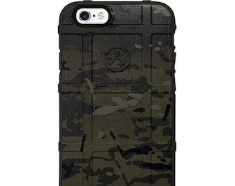 CUSTOM PRINTED Limited Edition Magpul Field, UAG, Pelican Black Multicam Case