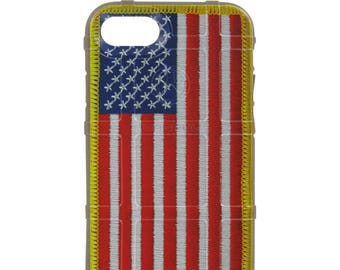 CUSTOM PRINTED Limited Edition - Authentic Made in U.S.A. Magpul Industries Field Case, USA Assaulting Flag Patch Case all styles (usapatch)