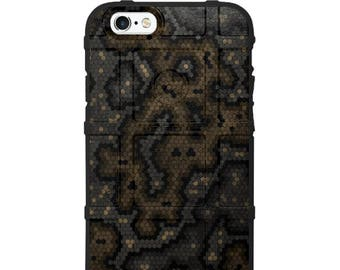 CUSTOM PRINTED Limited Edition - Authentic Made in U.S.A. Magpul Industries Field Case, Hex Camo Wasteland Spectre Multicam Camouflage -hex