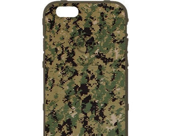 Custom Printed Limited Edition - Authentic Made in U.S.A. Magpul Industries Field Case, Navy Working Uniform NWU Type 3 Digital Camouflage