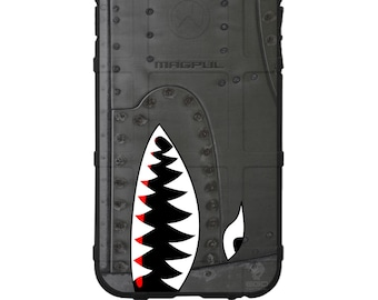 CUSTOM PRINTED Limited Edition - Authentic Made in U.S.A. Magpul Industries Field Case, Spitfire / Warthog / A-10 Thunderbolt Phone Case