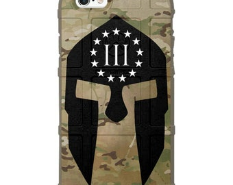 CUSTOM PRINTED Limited Edition -  Spartan Oath Keeper, 3 Percenter case