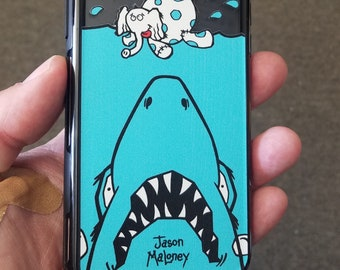 EGO Artist Series: Jason Maloney Tippsy The Elephant & Jaws Limited Edition Custom UV-Printed Smartphone Case