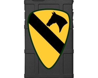 """CUSTOM PRINTED Limited Edition -  US Army 1st Cavalry Division Patch """"1st Team"""""""