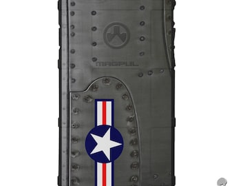 CUSTOM PRINTED Limited Edition - Authentic Made in U.S.A. Magpul Industries Field Case, Air Force B-17 Flying Fortress