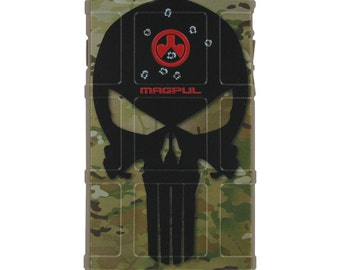 Custom Printed Limited Edition - Multicam OCP / Scorpion Camouflage, Black Headshot Punisher