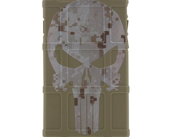 Custom Printed Limited Edition -  MARPAT Desert Digital Camouflage Punisher -DDP