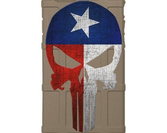 CUSTOM PRINTED Limited Edition -  Texas State Flag Punisher