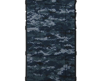 CUSTOM PRINTED Limited Edition - Authentic Made in U.S.A. Magpul Industries Field Case, Navy Digital Camouflage - NAV
