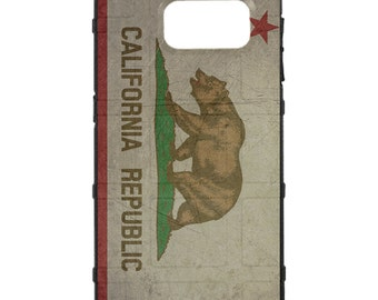 CUSTOM PRINTED Limited Edition -  Weathered California State Flag