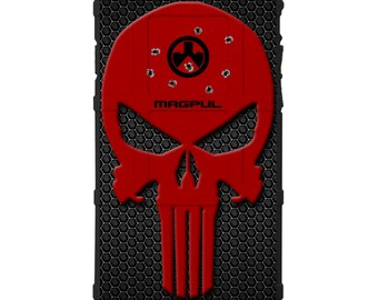CUSTOM PRINTED Limited Edition - Authentic Made in U.S.A. Magpul Industries Field Case, Red Headshot Harry Punisher Hex (rpnshex)
